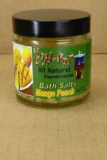 113gr. Mango Peach Badesalz all natural handmade von The Coal Pot aus Dominica