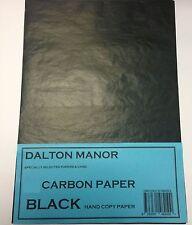 DALTON MANOR A3 CARBON PAPER BULK 1000 SHEET PACK IN BLACK