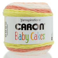 Caron Baby Cakes Yarnspirations Soft Acrylic Blend Medium #4 Yarn Cake Knitting