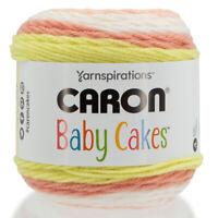 Caron Baby Cakes Yarnspirations Soft Acrylic Blend Medium #4 Yarn Cake Knitting