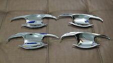 HANDLE INSERT COVER TRIM FOR TOYOTA INNOVA CRYSTA 2016 SET OF4 NEW CHROME BOWL