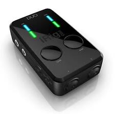 IK Multimedia iRig PRO DUO - 2 Channel Guitar/Mic/MIDI Interface for IOS & Andro