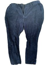 Zara Man Navy Corduroy Trousers Light And Comfortable Size 30