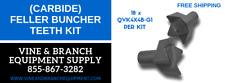 Premium Feller Buncher (Carbide) Saw Teeth Kit Qvk4X4B-G1