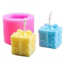Soap Shaped For Aroma Christmas Gypsum Gift Mold Candle DIY Silicone Mould B7M9