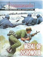 MEDAL OF DISHONOUR,COMMANDO FOR ACTION AND ADVENTURE,NO.3287,WAR COMIC,1999