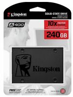 Kingston A400 240Go SATA3 6Gb/s SA400S37/240G 7mm Solid State Drive SSD