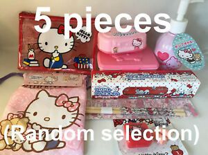 5pcs HELLO KITTY Items (Random Selection) Japanese Kawaii Accessories Stationery