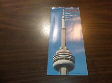 CANADIAN NATIONAL CN TOWER BROCHURE