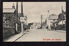 Broughton, Village Scene - near Preston - printed postcard