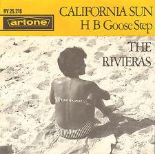 "RIVIERAS - California Sun (SURF ROCK SINGLE 7"" RARE DUTCH ARTONE PS)"