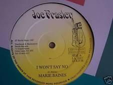 """Marie Baines ~ Je ne vais pas dire non ~ 12"""" SINGLE"""