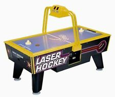 Great American Jr. Neon Laser Coin Operated Air Hockey Table/Overhead Scoring