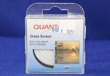 Quantaray Cross Screen Filter 49mm