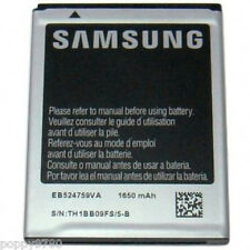 New 3.7 V Li-Ion Samsung Android Cell Phone Battery EB524759VA, 1650mAh, 6.11 Wh