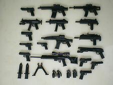 (No.23-4) custom swat police gun  army weapons  parts for LEGO minifigures