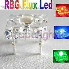 500 PCS 5mm 8Kmcd Common Anode Super Flux RGB LED F/R