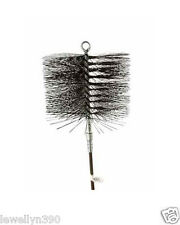 """Rutland Wire Chimney Brush w/attached ring end: 6"""" Round #16406"""