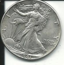 1941 50C Walking Liberty Half Dollar SKU#1551