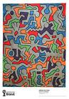 World Cup Brazil Art soccer 2014 Poster Print Keith Haring Palladium 1985 RARE