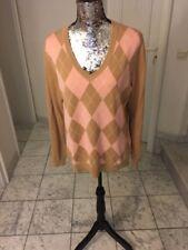 Hüftlange Damen Pullover & Strickware mit Karo & Rauten L