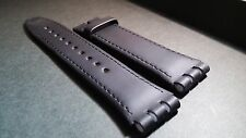 Genuine Leather, Genuine Swatch strap / bands leather 19/20mm (slight mark on