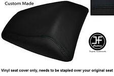 BLACK VINYL CUSTOM FITS HONDA CBF 500 600 04-08 REAR PILLION SEAT COVER ONLY