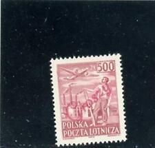 Poland 1950 Scott# C27 mint LH Red Groszy