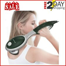 Handheld Electric Massager w/ Heat Back Neck Shoulder Vibrating Therapy Machine