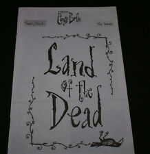 RARE CORPSES BRIDE FANZINE SEPT/OCT 2005 NEVER USED MINT OUT OF PRINT HTF 20PGS