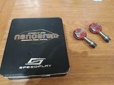 Speedplay titanium zero pedals (Red) 148g