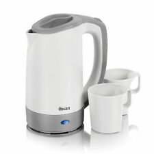Swan 2 cup 0.5 Litre White Camping Outdoor Travel Jug Kettle Rapid Water Boil