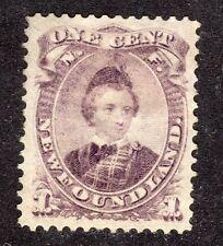 NEWFOUNDLAND STAMP #32  — 1c PRINCE  -  1868 -  UNUSED