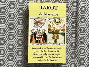 Jean Noblet Tarot de Marseille Reproduction 1st Edition