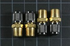 "[x4] 1/8"" NPT MPT Brass Air Compressor Tank Fill Valve Schrader NEW"