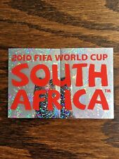 PANINI FOIL STICKERS, OFFICIAL POSTER WORLD CUP SOUTH AFRICA 2010 #SA2-3
