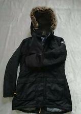 Tog 24 Deluxe Ladies Winter Fur Hood Coat Navy Size 10/12 Squad jacket