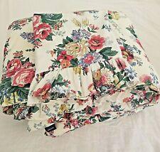 Ralph Lauren Twin ELAINE Comforter + Sham Floral Multi Color Set 2 PCS