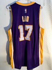 Adidas Swingman  NBA Jersey Los Angeles Lakers Jeremy Lin Purple sz XL