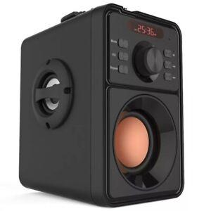 Super Bass Bluetooth Speaker Portable Column High Power Subwoofer Music...