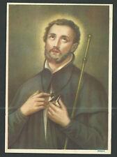 Lámina antigua San Francisco Javier andachtsbild santino holy card santini