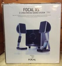 OPEN BOX: Focal XS 2.1 Multimedia Sound System Speakers