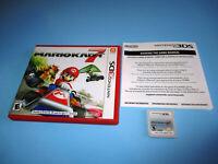 Mario Kart 7 (Nintendo 3DS) XL 2DS Game w/Case & Insert