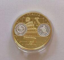 Polierte Platte thematische Medaillen aus Italien