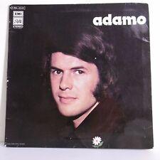 """33T ADAMO Disque Vinyle LP 12"""" QUAND TU REVIENDRAS - PATHE C064-23417 RARE"""