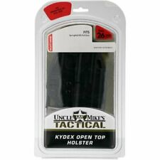 Uncle Mike's Tactical Open Top Kydex Holster Size 26 Full Size Springfield XD