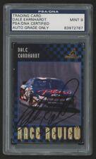 Dale Earnhardt Sr. Hand Signed 1997 Pinnacle #70 (PSA 9 MINT Encapsulated)