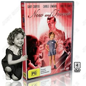 Now and Forever DVD : (1934) Original Shirley Temple Movie : Brand New