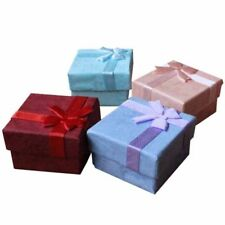 10x Jewellery Gift Boxes Bag Necklace Bracelet Ring Small Wholesale PackUK`,