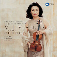 KYUNG WHA CHUNG VIVALDI - THE FOUR SEASONS 2CD KOREA EDITION BRAND NEW SEALED